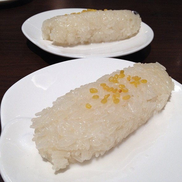 Sticky Rice With Coconut Sauce @ Absolute Thai