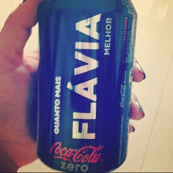 Minha Coca Zero @ Em Casa