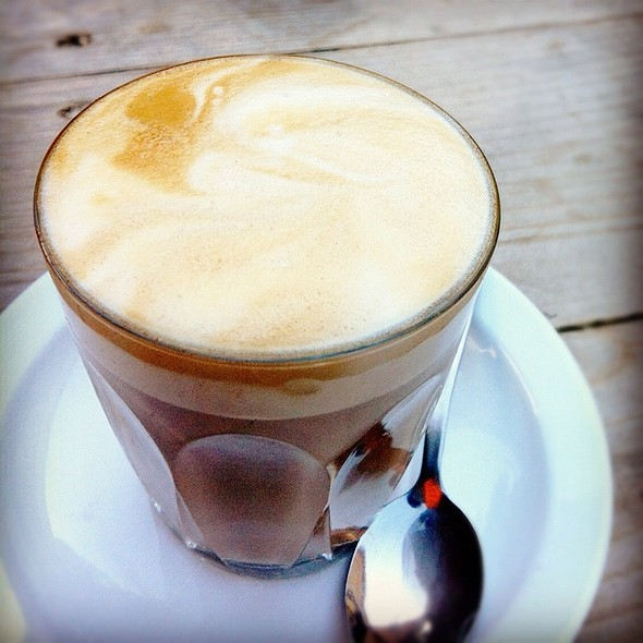 Cafe Latte @ The Portarlington Bakehouse