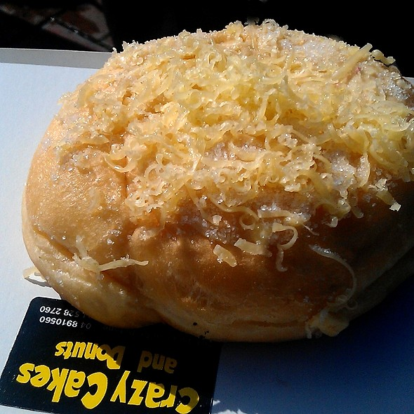 Cheese ensaymada @ Crazy Cakes and Donuts