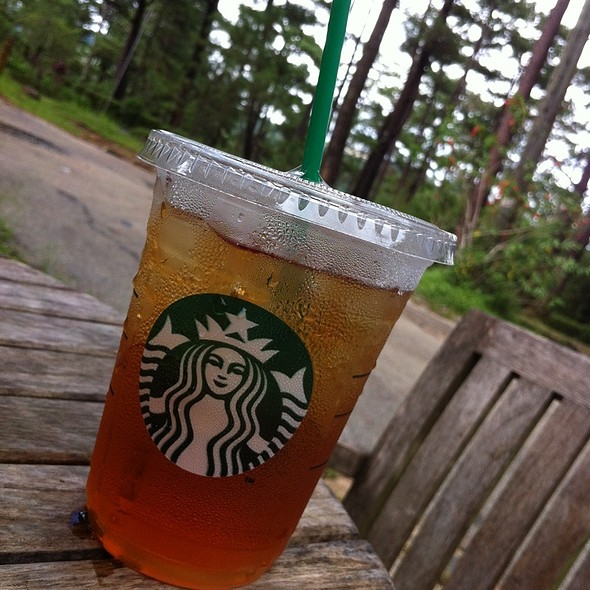Starbucks Iced Tea Basic Black @ Starbucks Camp John Hay