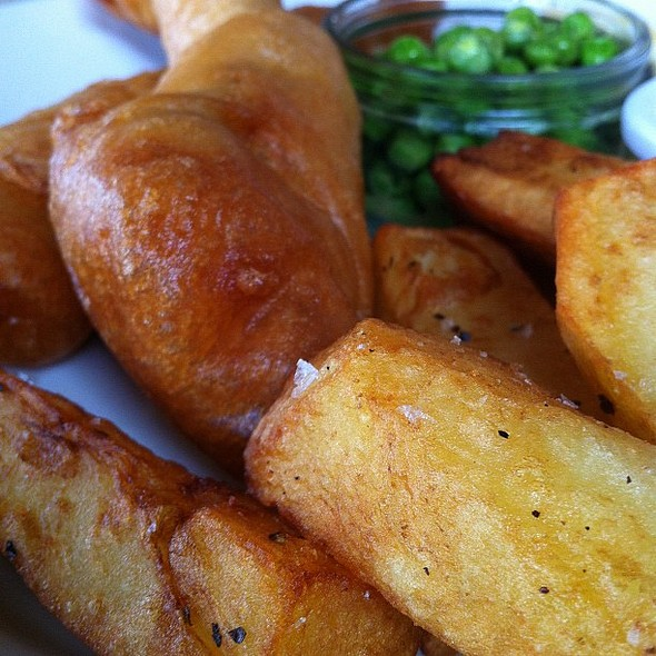 fish'n'chips @ Sussex Yeoman