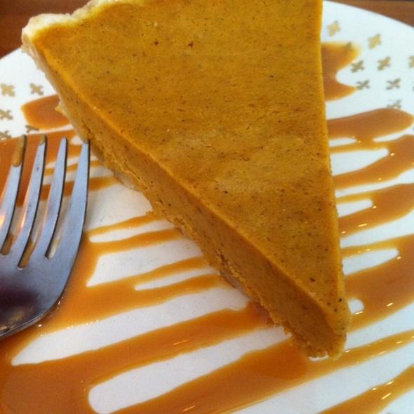 Pumpkin Pie @ Crescent Pie & Sausage Company