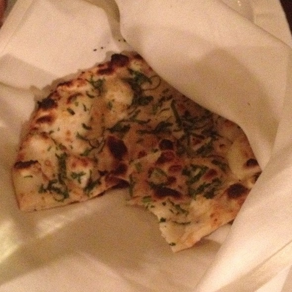 garlic naan - Bombay Club, Washington, DC
