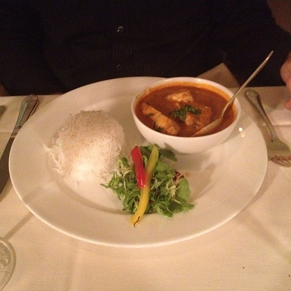 Goa Fish Curry - Bombay Club, Washington, DC