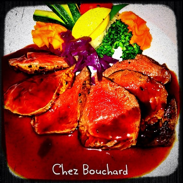 Filet De Boeuf En Tranche - Bouchard Restaurant and Inn, Newport, RI