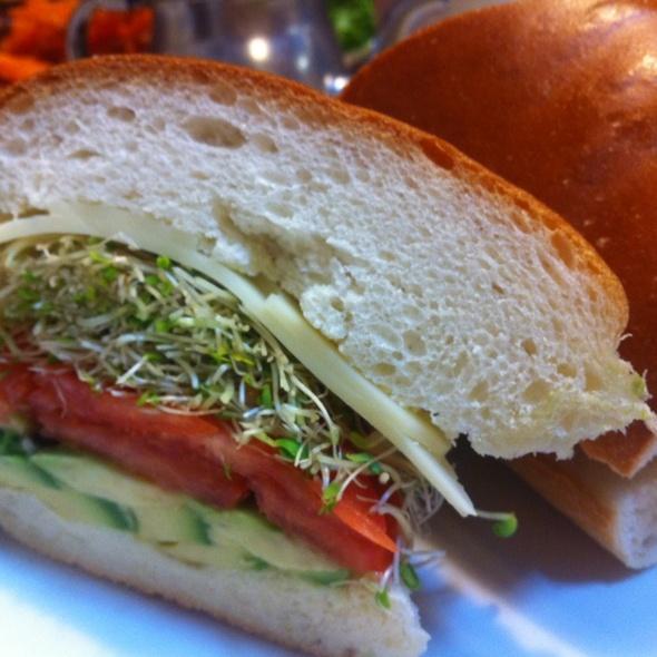 Veggie Sandwich @ Mac's Kosher Style Deli