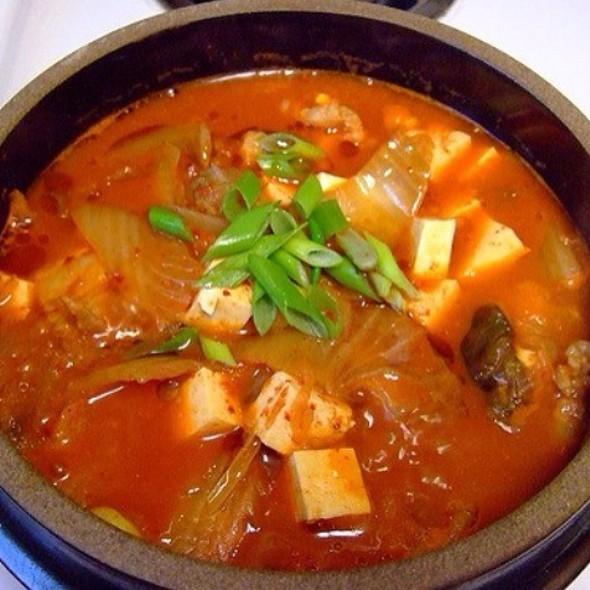 Kimchi Jjigae @ Mu Jin Jang Korean BBQ Restaurant