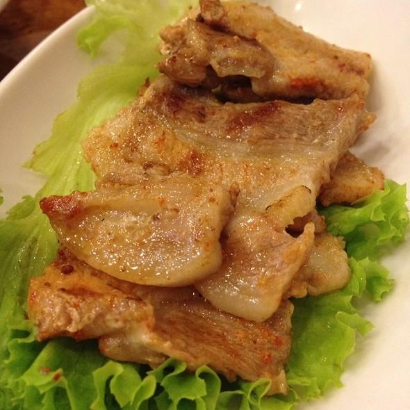 Spicy Pork Bulgogi @ Mu Jin Jang Korean BBQ Restaurant