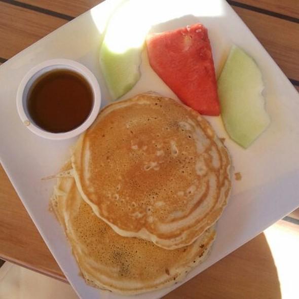 Chocolate Chip Pancakes w/ Maple Syroup @ Hotel Laguna
