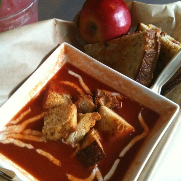 "Tomato Soup & Grilled Cheese Sandwich"" @ The American Grilled Cheese Kitchen"