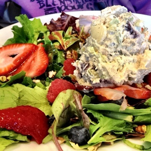 Berry Chicken Salad @ Brunch Cafe Fox River Grove