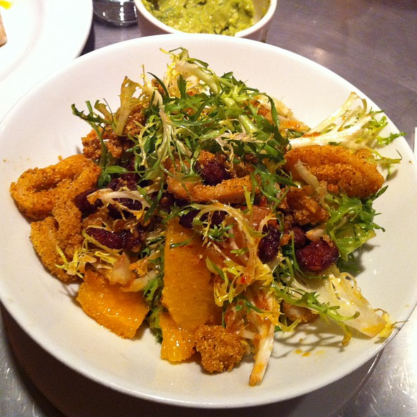 Calamari Salad @ Rocking Horse Cafe