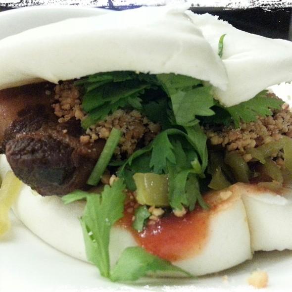 Taiwanese Pork Burger @ Facing East