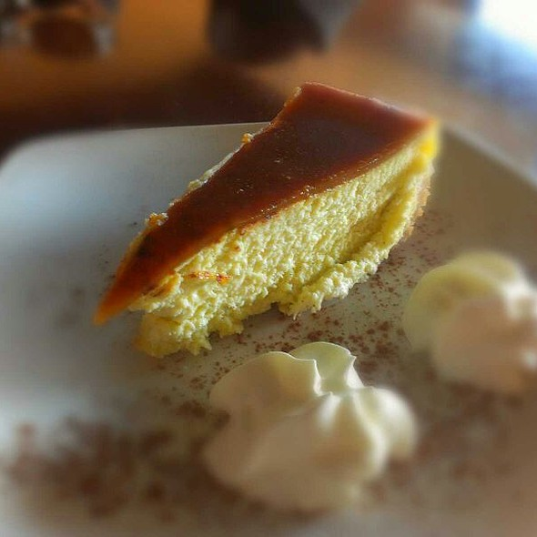 Creme Brulee Cheesecake - Cucina Di Paisano, North York, ON