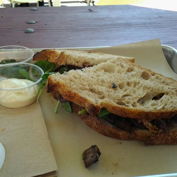 Roasted Portabella Sandwich @ Slow