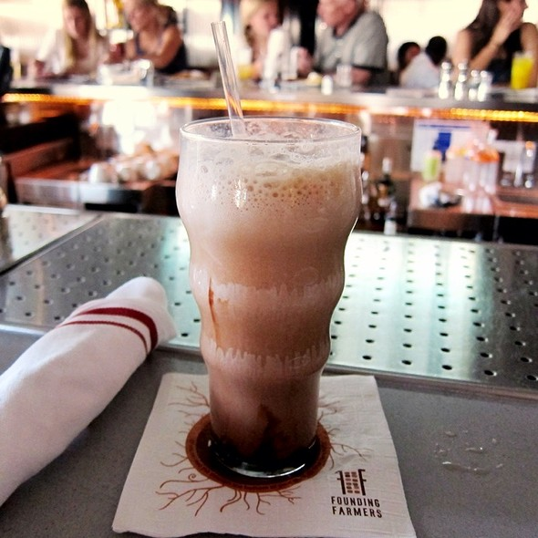 Egg Cream - Founding Farmers - Montgomery County, Potomac, MD