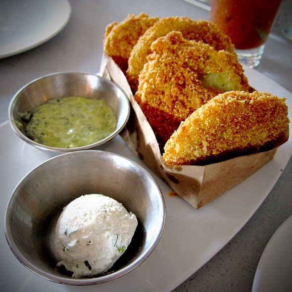 Fried Green Tomatoes @ Founding Farmers