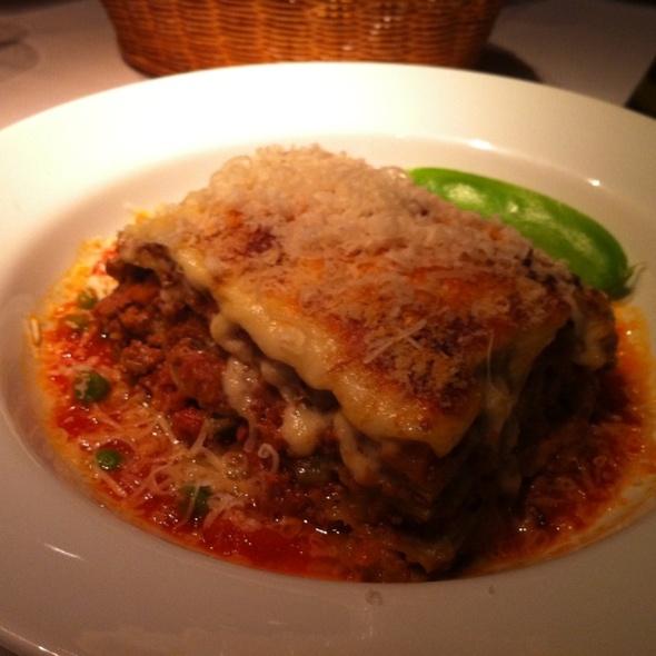 Meat Lasagna @ Piselli Vineria & Osteria
