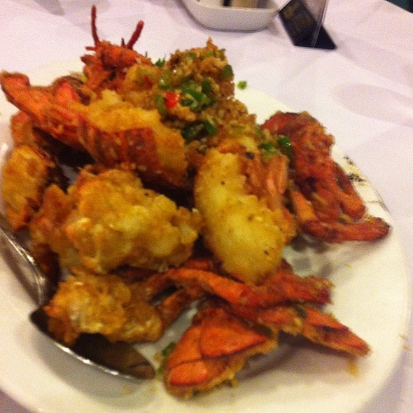Deep Fried Lobster With Spicy Salt @ Lee Garden Toronto