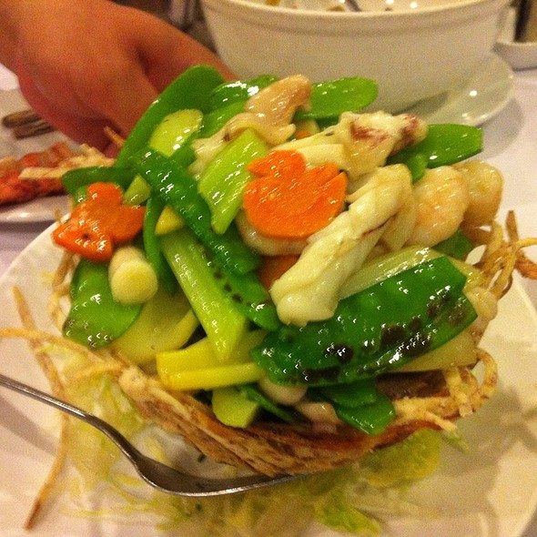 Seafood In Bird's Nest @ Lee Garden Toronto