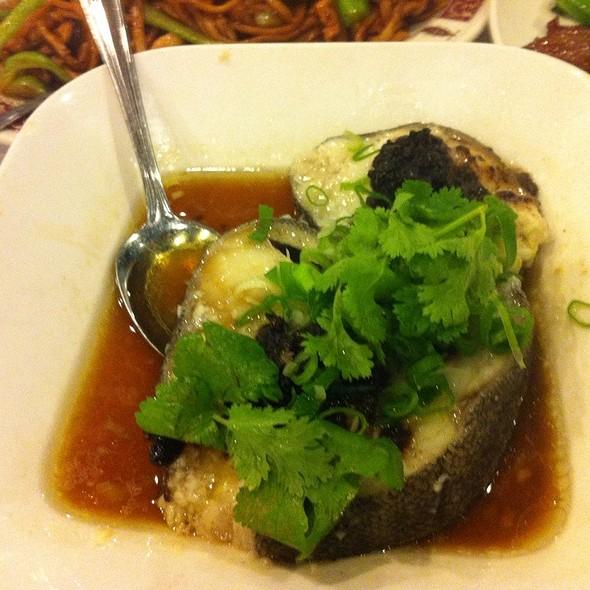 Steam Cod With Black Bean Sauce @ Lee Garden Toronto