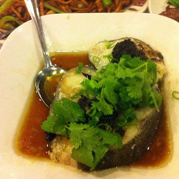 Steam Cod With Black Bean Sauce @ Lee Garden Toronto