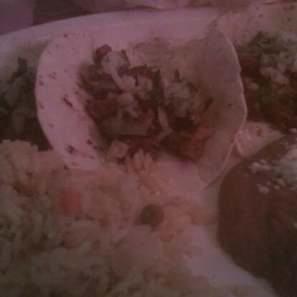 Flour Tacos Al Pastor