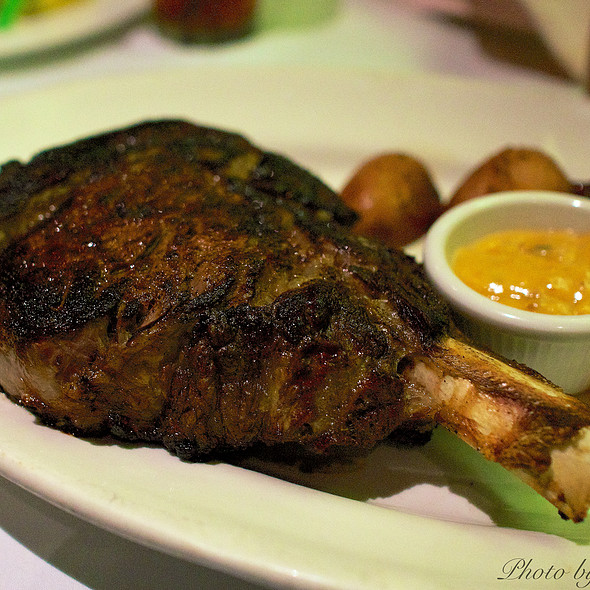 24oz. Bone in Angus Rib Eye - The Steakhouse at Harrah's - Harrah's Reno, Reno, NV
