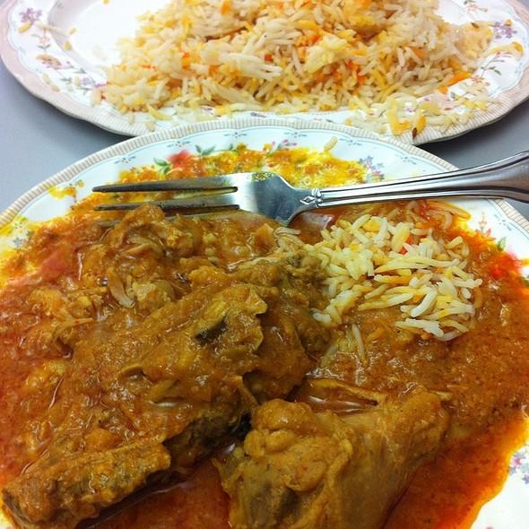 Chicken Korma Curry @ Shan  II