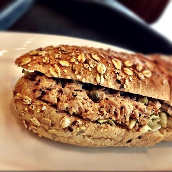 Tuna, Dill & Capers Sandwich