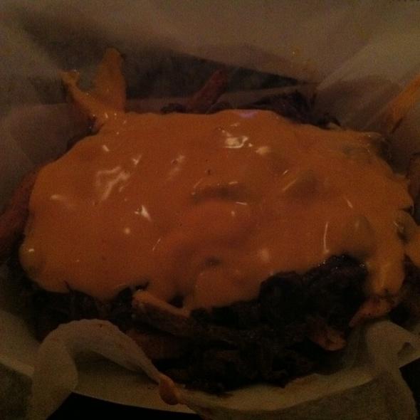 Bbq Chili Cheese Fries @ Rub BBQ Restaurant