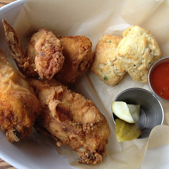 Fried Chicken and Biscuits @ Family Meal