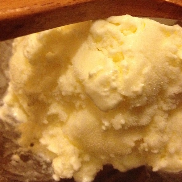 Frozen Yogurt @ Unkaizan Japanese Restaurant