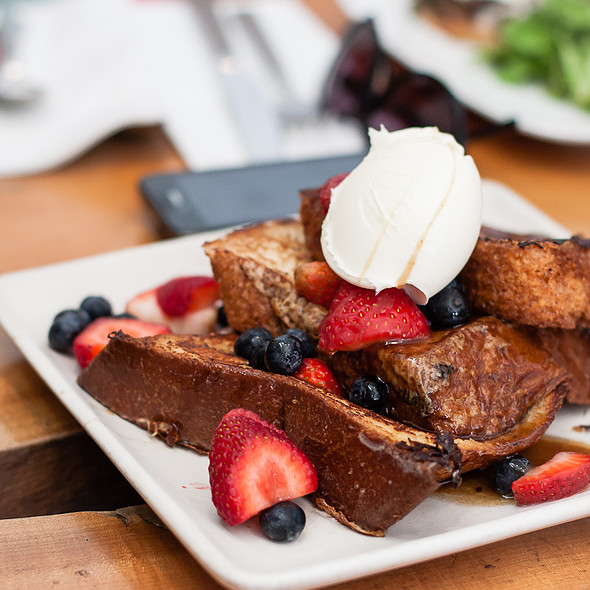 French Toast @ Mission Beach Cafe
