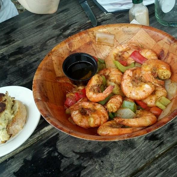 Crab Cake & Spicy Steamed Shrimp @ Merroir