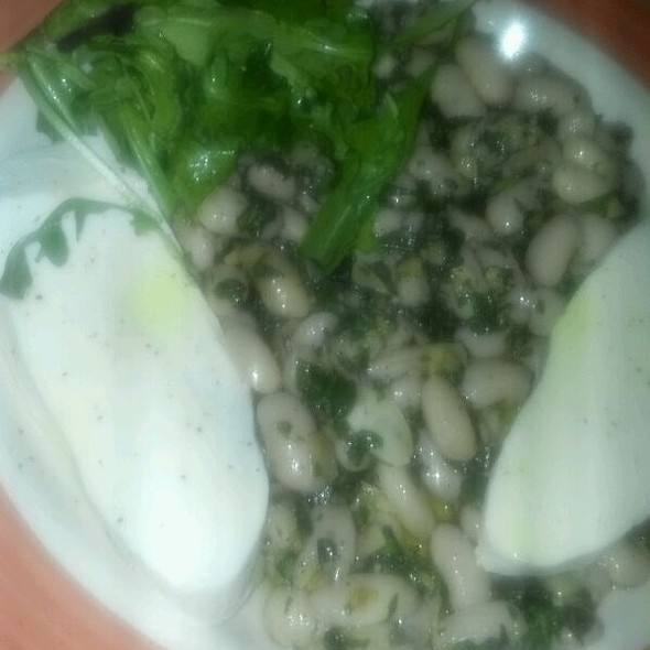 White Bean Salad @ Bacchus