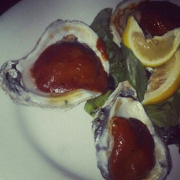 BBQ Oysters @ The Continental Westhampton