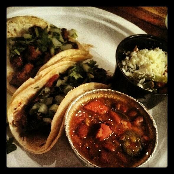 Tacos, Beans, Nopales @ Tio Pablo