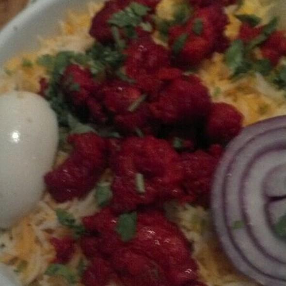 Chicken Biryani @ Kebab & Biryani - Indian Restaurant