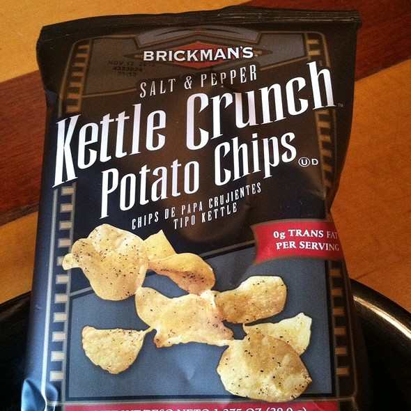 Salt And Pepper Kettle Chips @ Bell's Brewery Inc: Eccentric Cafe