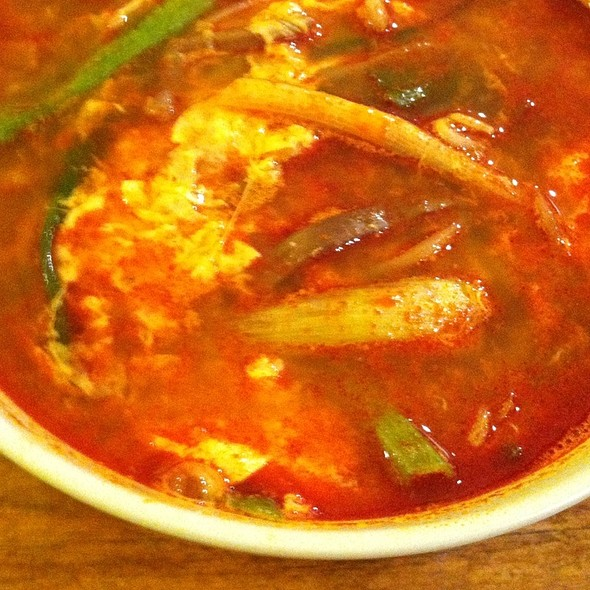 Yuk Kae Jang - Chilli Beef Soup @ Mandoo Bar