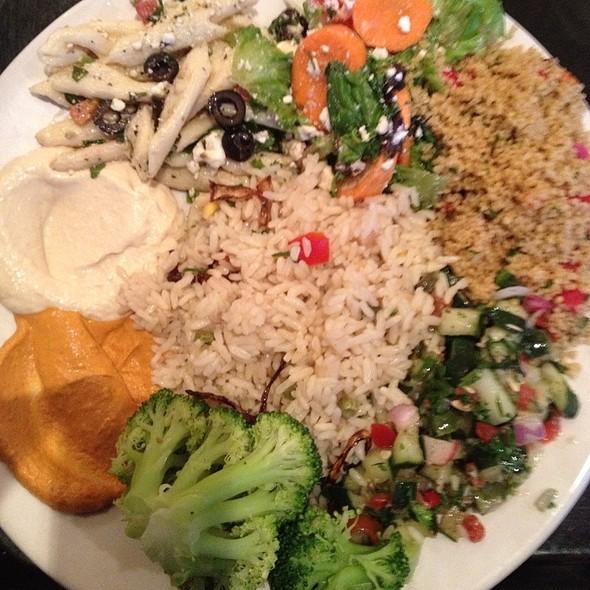 Fadi's Vegetarian Sampler @ Fadi's Mediterranean Cuisine
