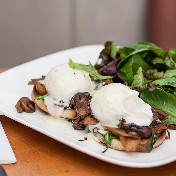 Wild Mushroom Eggs Benedict