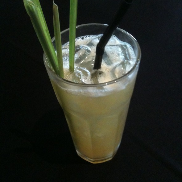 Lemon Grass Drink @ Funky Villa