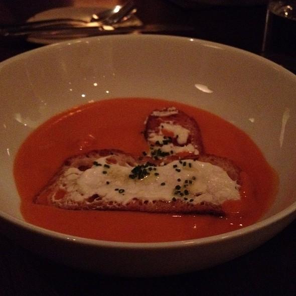 Smoked Tomato & Cheddar Soup