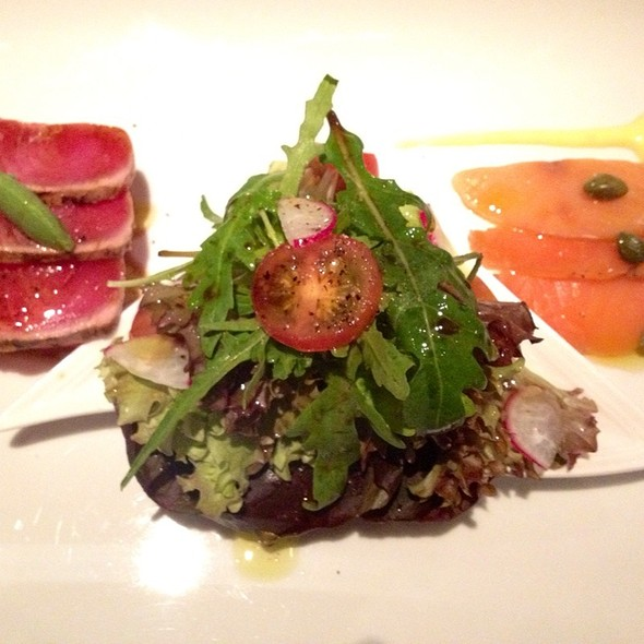 Ahi Tuna Loin & Marinated Salmon @ Lolo Dad's Cafe
