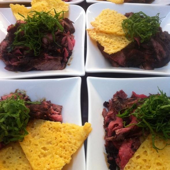 Balsamic Roastbeef Carpaccio @ Gourmet X-Perts Catering