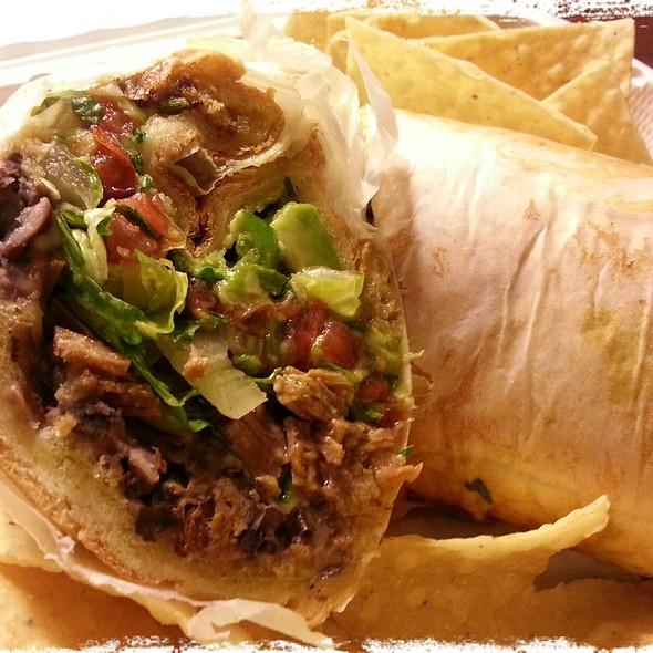 Brisket Torta @ Baja Burrito