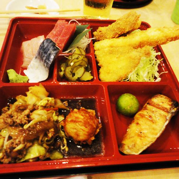 Makunouchi Bento @ Izakaya Kikufuji